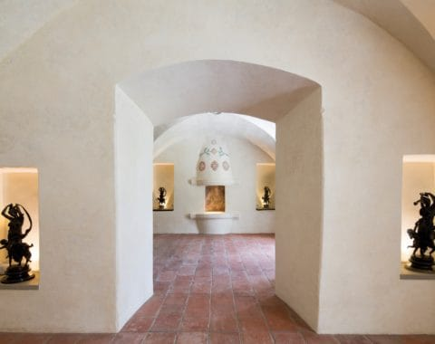 Kaštieľ interiér